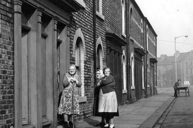 These houses in Alice Street were facing demolition 55 years ago. Remember when it looked like this?
