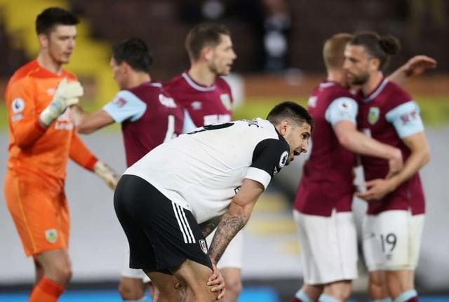 Former Newcastle United striker Aleksandar Mitrovic reacts to Fulham's relegation.