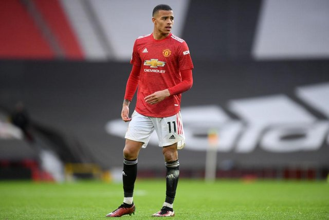 Mason Greenwood of Manchester United.  (Photo by Michael Regan/Getty Images)