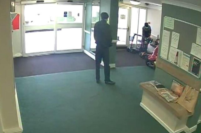A member of the public raised the alarm after seeing the two men acting suspiciously.