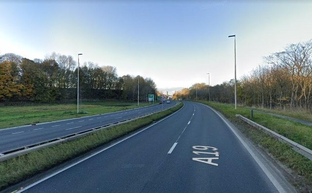 An investigation is ongoing after a man died following a crash on the A19 near Jarrow