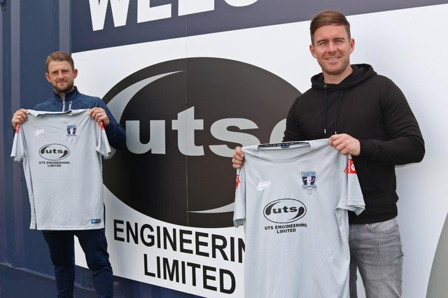 Former South Shields duo Craig Baxter and Phil Turnbull have joined Northern Premier League East Division club Dunston UTS. CREDIT DUNSTON UTS