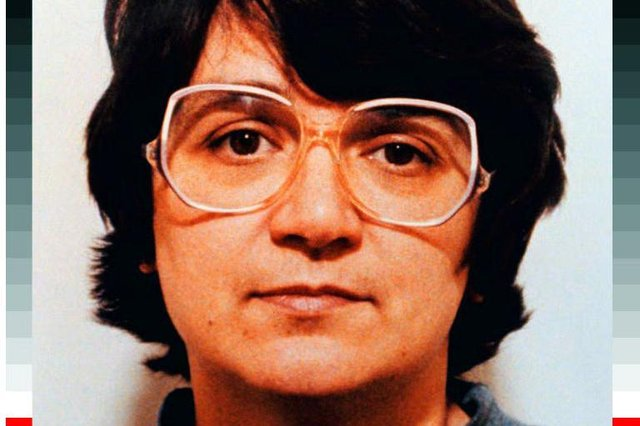 Rosemary West, sentenced to life imprisonment on ten counts of murder, and who was a former Durham Prison inmate. Photo: PA.
