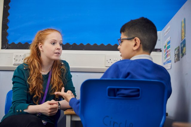 Counsellors are available to help children through the challenges they may be facing.