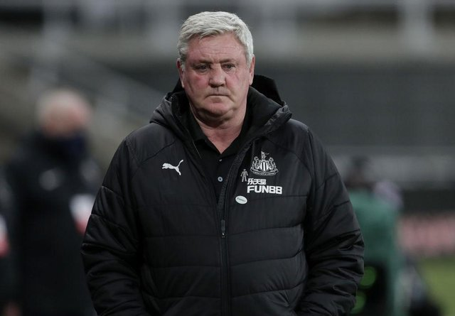 Newcastle United head coach Steve Bruce (Photo by Richard Sellers - Pool/Getty Images)