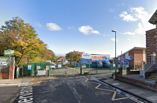 Epinay School in Jarrow has closed for the week after a large number of staff were forced to go into isolation