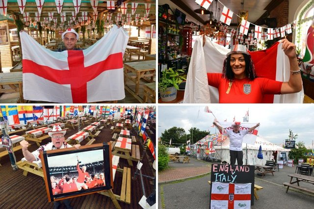 Pubs are gearing up for the Euro 2020 final