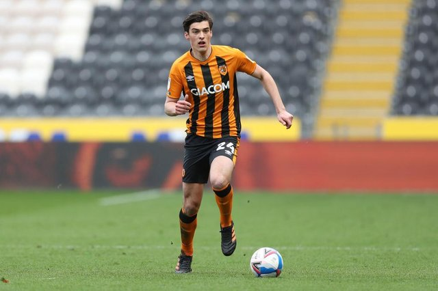Hull City defender Jacob Greaves is reportedly on the radar of Newcastle United. (Photo by George Wood/Getty Images)