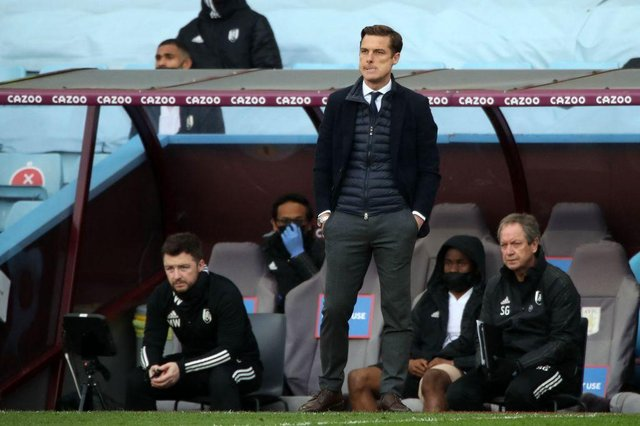 Fulham boss Scott Parker insists he does not keep an eye on Newcastle United's results.. (Photo by NICK POTTS/POOL/AFP via Getty Images)