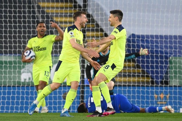Newcastle United left-back Paul Dummett. (Photo by MICHAEL REGAN/POOL/AFP via Getty Images)