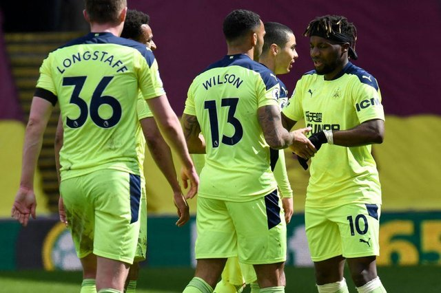 Newcastle United earned a big Premier League three points at Burnley on Sunday afternoon. (Photo by PETER POWELL/POOL/AFP via Getty Images)