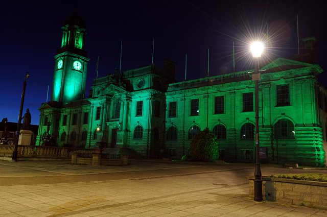 South Shields town hall will be lit green for Carers' Week