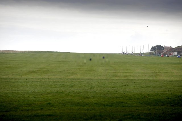 An incident involving a dog walker took place on The Leas in South Shields.