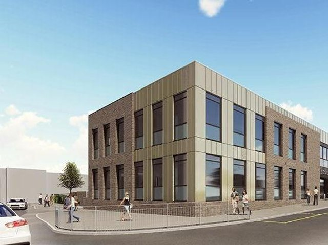 CGI of how the new Jobcentre Plus will look