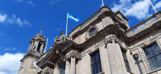 Physical meetings have not taken place at South Shields town hall since early 2020