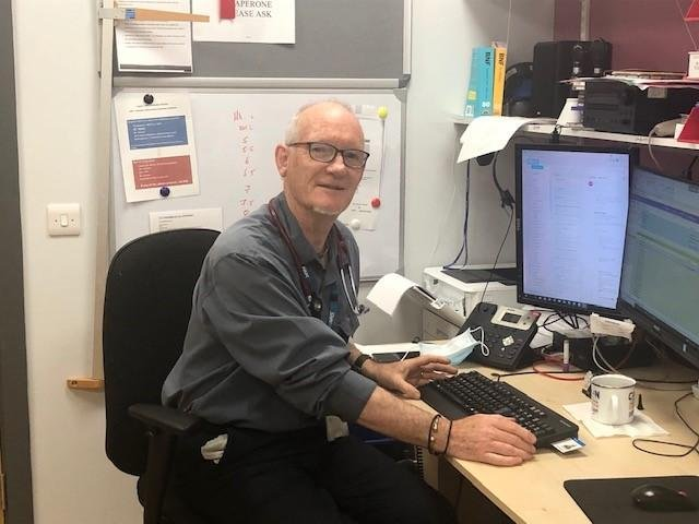 Dr Colin Bradshaw, GP at Marsden Road Health Centre in South Shields.