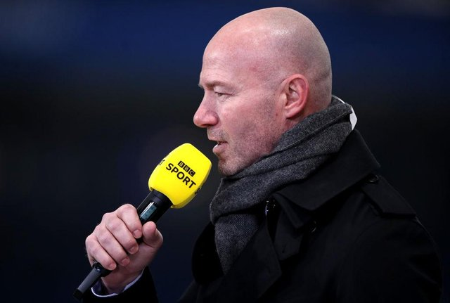 Newcastle United legend Alan Shearer. (Photo by Alex Pantling/Getty Images)