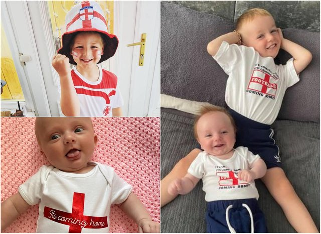 """Families have been sharing their """"come on England"""" photos!"""