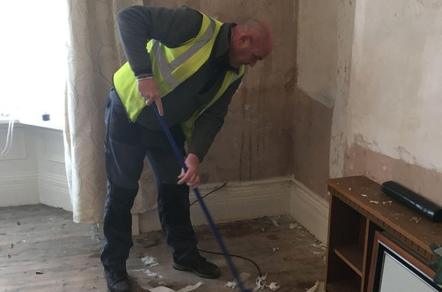 Work taking place to prepare the flats ready for companions