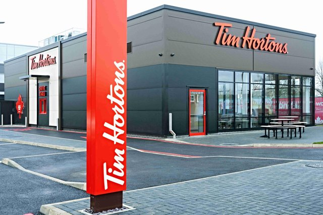 Tim Hortons is expanding, including a new outlet in Boldon