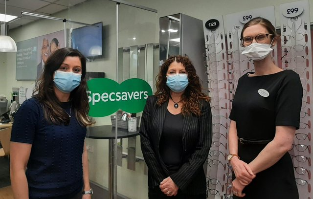 Emma Nicol, Mel Moore and Caroline Angell have taken over as directors of Specsavers in King Street, South Shields.
