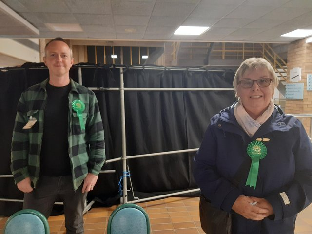 Sue Stonehouse joins David Francis in representing Beacon and Bents, where the party now have two out of three council seats.